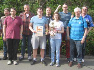 1. Mannschaft 2018 - Meisterfoto in Fischbach