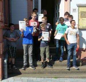 Die Teilnehmer der U14/U16