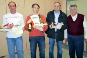 Bezirkseinzelmeisterschaft 2010 - Siegerehrung