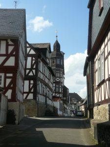 Eine typische Stadtansicht von Braunfels