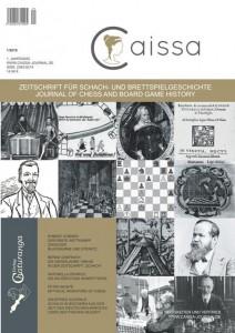 """Cover der ersten Ausgabe der Zeitschrift """"Caissa"""""""