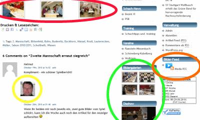Homepage-Neuerungen