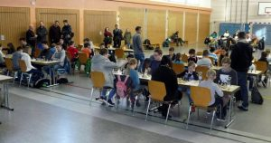Jugendturnier Idar-Oberstein 2016: Blick in den Turniersaal