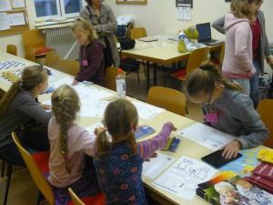 Malwettbewerb am Girlsday 2015