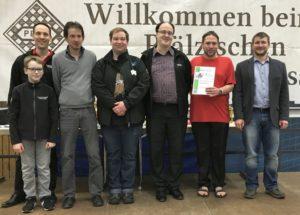 Mannschaftsblitz PSK 2019 - Birkenfeld II - Zweiter Platz Gruppe C