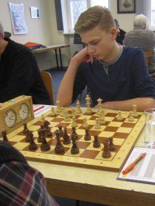 Niklas Leyendecker 2017 gegen Ohmbach.