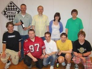 Mannschaftsblitz beim Schachkongress