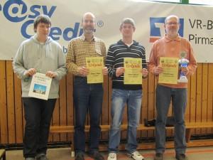Schachkongress 2012 Pirmasens - Ehrung HT III