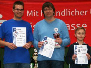 Schachkongress 2016 - Hauptturnier V - Podest