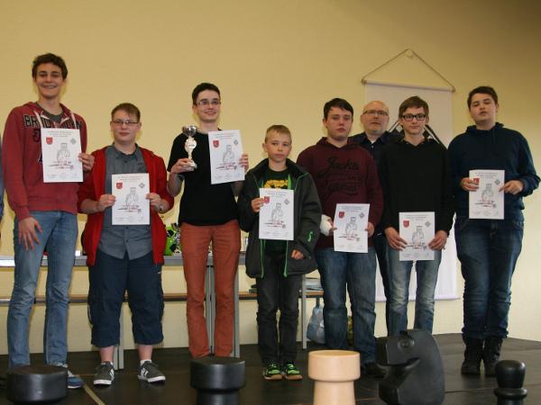 Siegerpodest U16 - Foto: Klaus-Peter Thronicke
