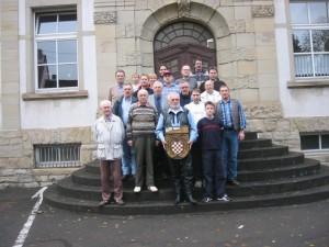 Vereinsmeisterschaft 2003 Siegertreppchen