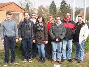Zweite Mannschaft der Schachfreunde Birkenfeld